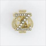 ΖΨ Deluxe Crown Pearl Badge