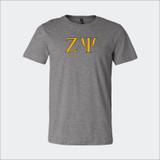 ΖΨ Soft Grey T-Shirt