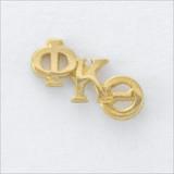 ΦΚΘ Monogram Lapel Pin
