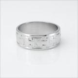 TKE Greek Monogram Band Ring
