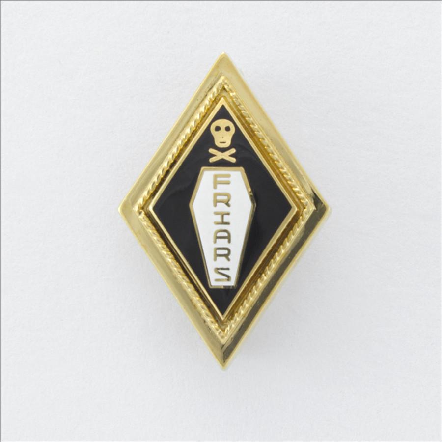 ΔKE Friars Badge