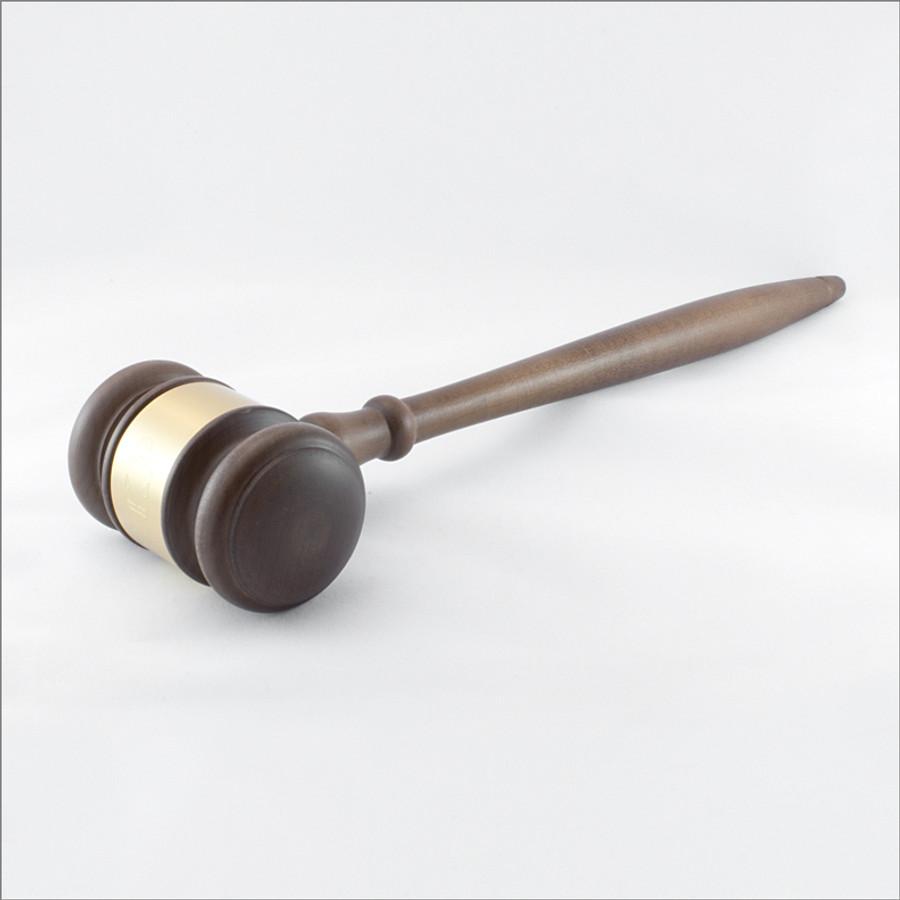 Custom-Engraved Wooden Gavel