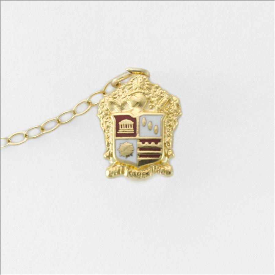 ΦΚΘ Enameled Crest Guard