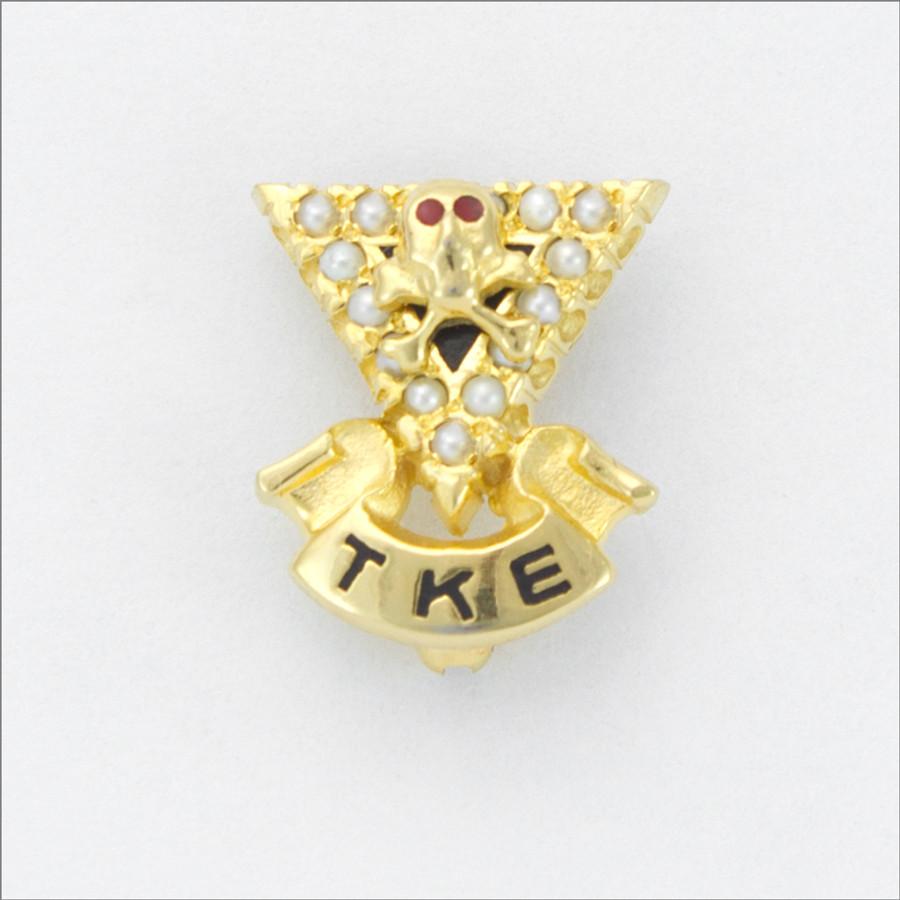 TKE Official Crown Pearl Badge
