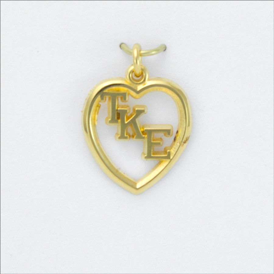 TKE Heart Lavaliere