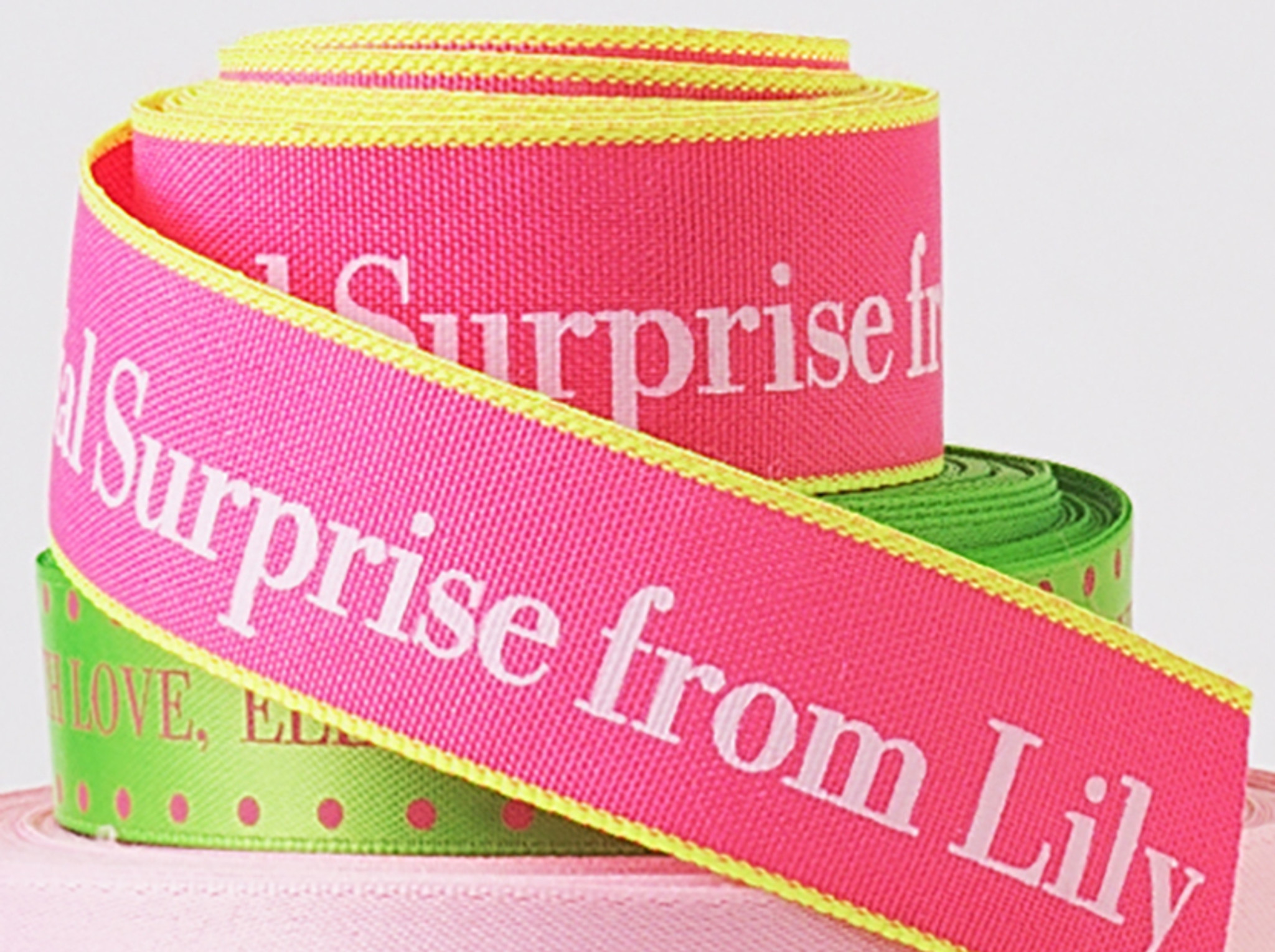 Birthday Personalized Ribbon