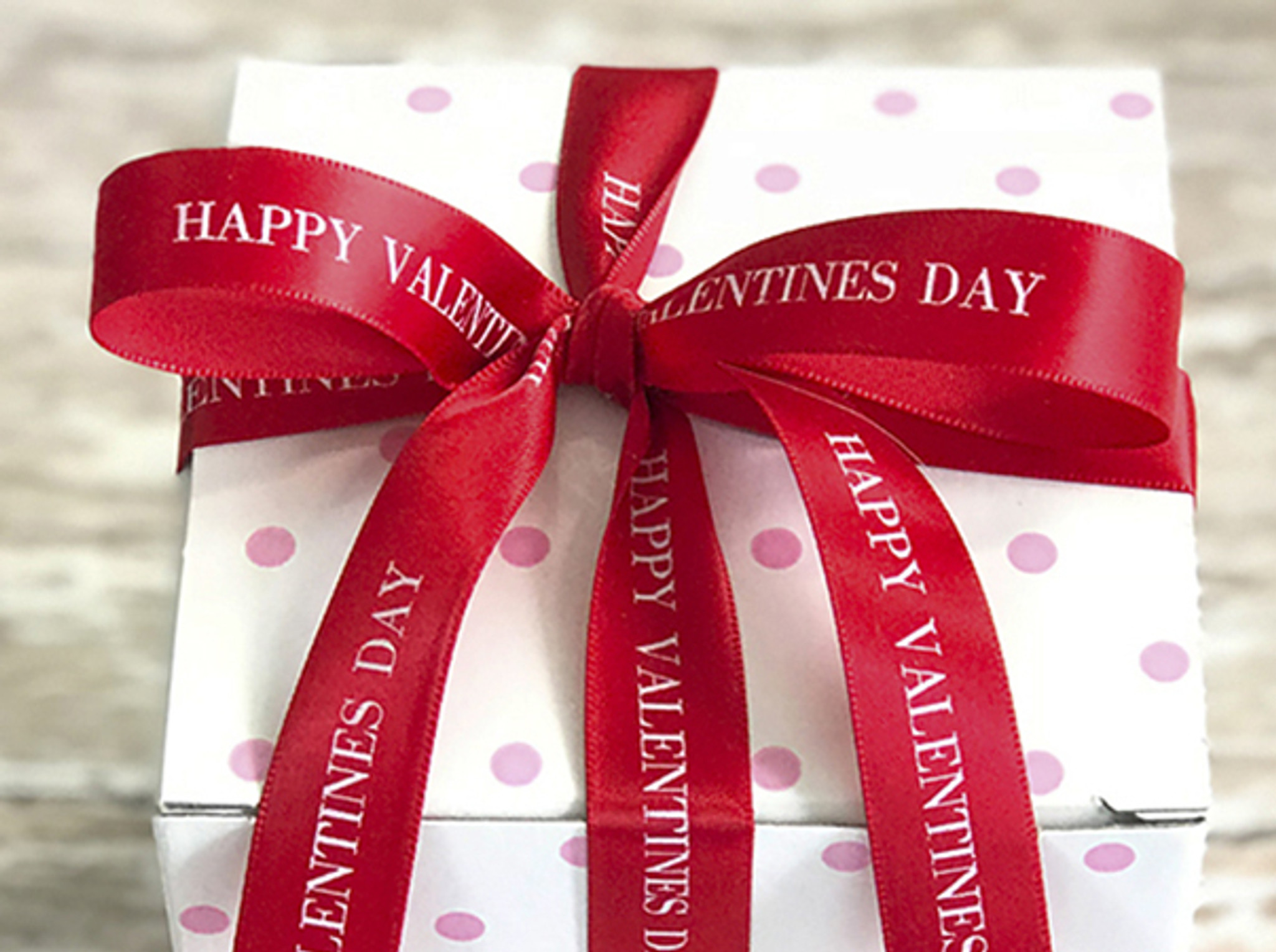 Valentine Personalized Ribbon