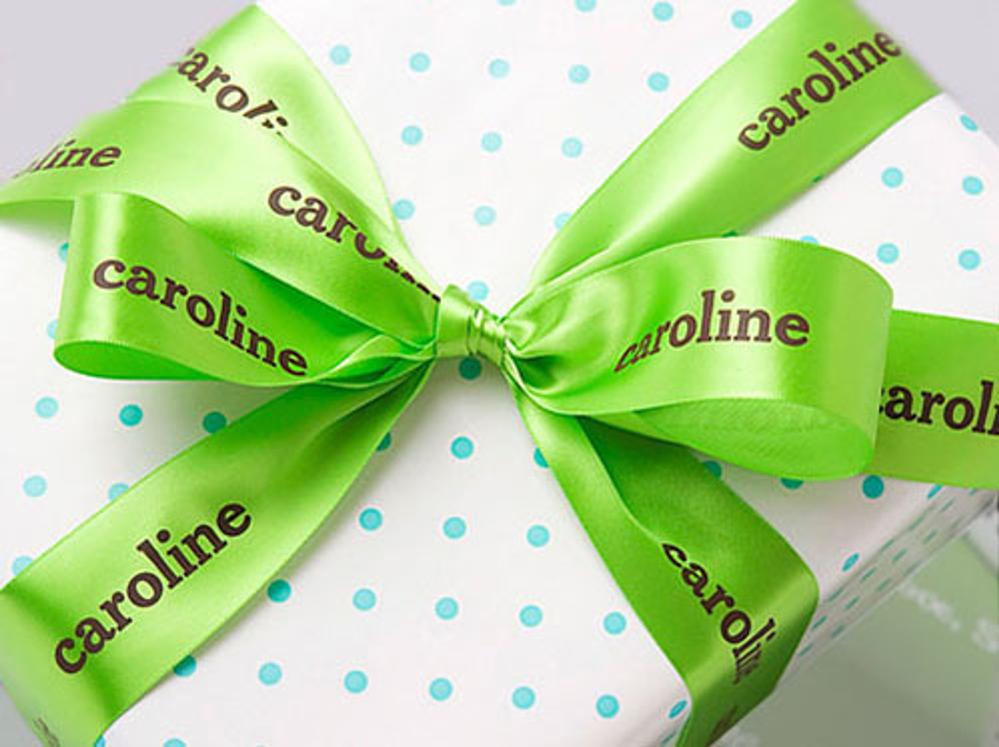 Personalized Printed Ribbon