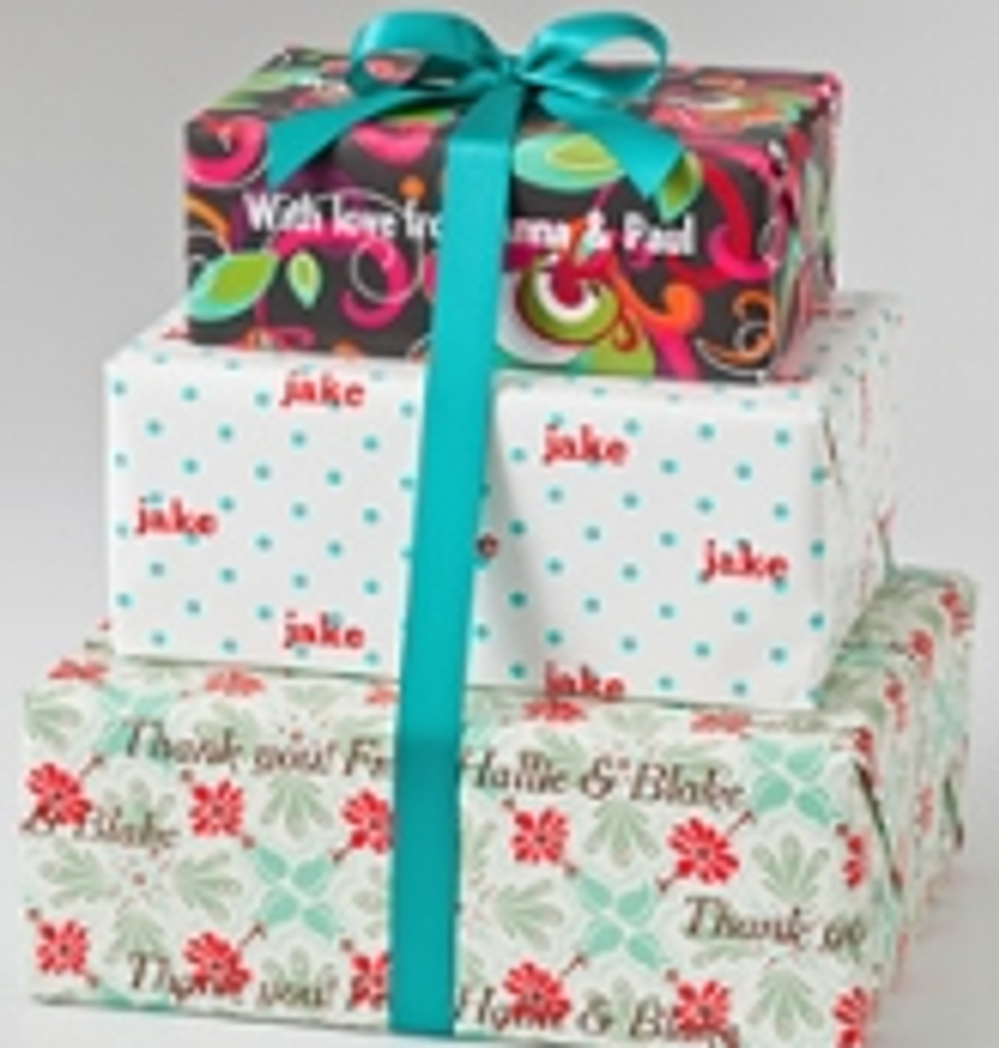 Personalized Gift Wrap - All Occasion