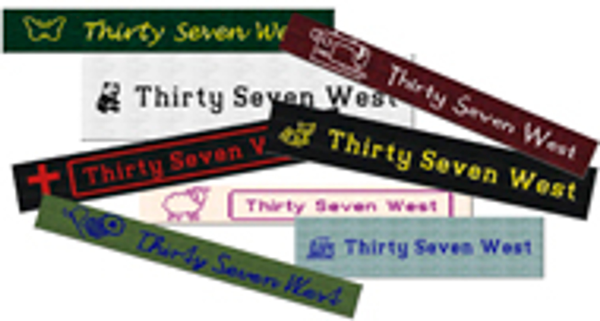 100% Cotton Woven Labels - 50+ Labels