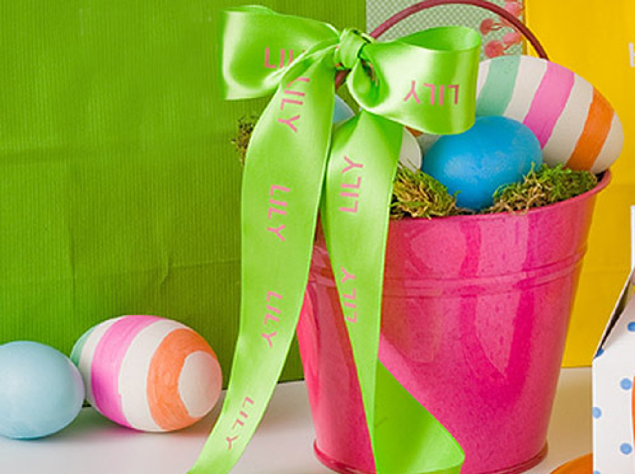 Easter Personalized Ribbon