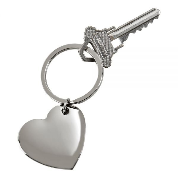 Cupid Heart Key Chain