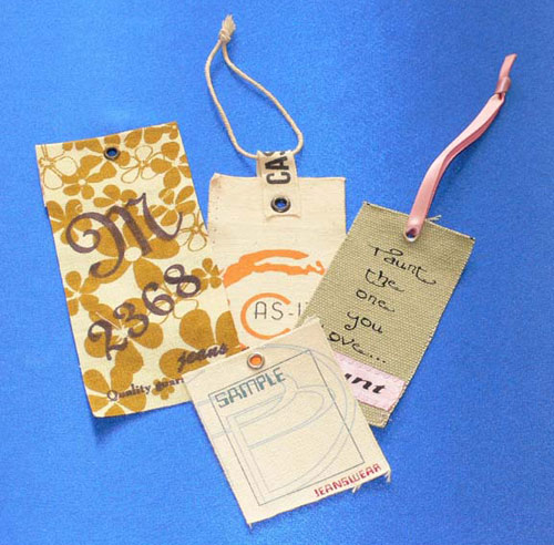 Custom Printed Cloth Hangtags