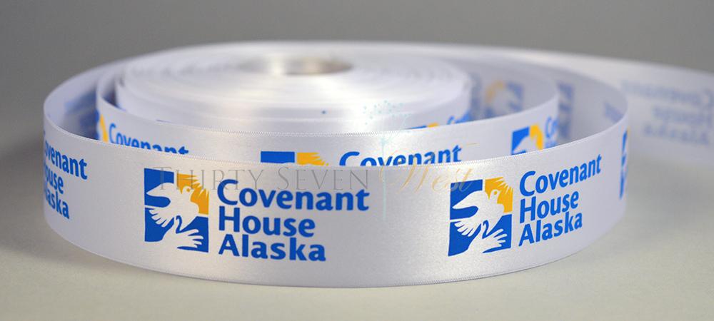 Customized Ribbon with Company Logo,  Printed Ribbon, Corporate logo Ribbon