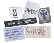 Custom Woven Fabric Clothing Labels