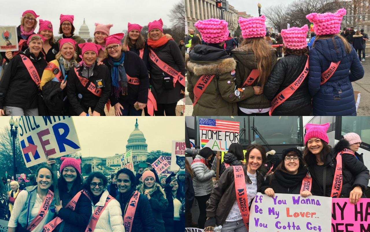 Women's March on Washington Sashes