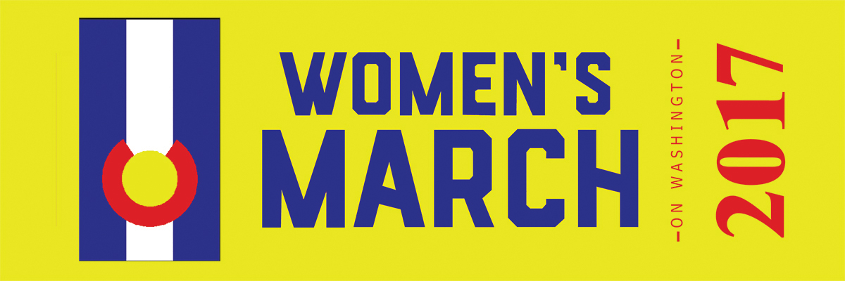 Women's March on Washington Sashes for Colorado Marchers - CUSTOM ORDER MINIMUM OF 100 YDS, SEE LINK BELOW