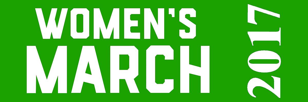 Women's March on Washington Ribbon for Sashes - White print on Green ribbon - CUSTOM ORDER MINIMUM OF 100 YDS, SEE LINK BELOW