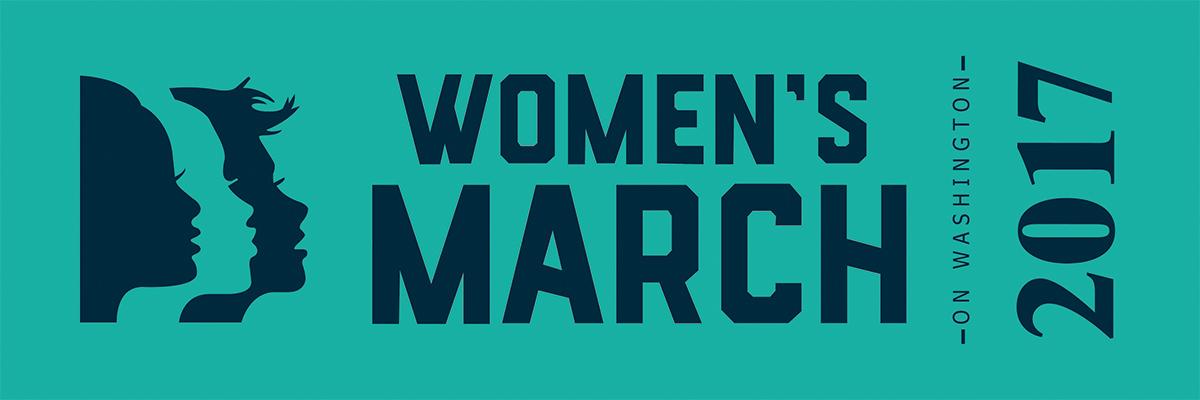 Women's March on Washington Ribbon for Sashes - Navy Print on Green Ribbon - CUSTOM ORDER MINIMUM OF 100 YDS, SEE LINK BELOW