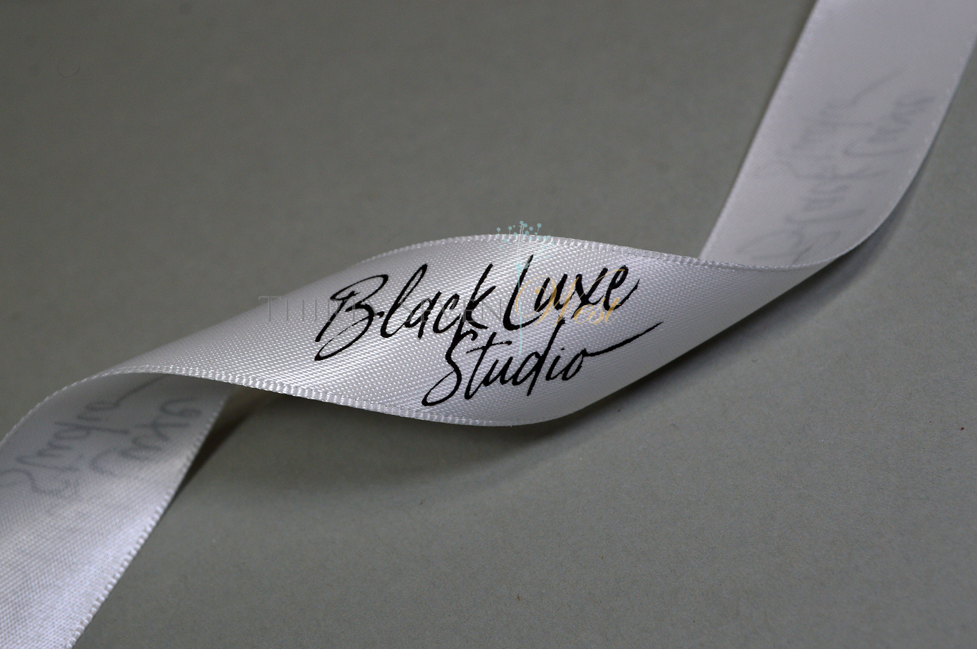 Event Ribbon, Custom Logo Ribbon, Logo Ribbon, Printed Logo Ribbon, Custom Ribbon, Company Logo Ribbon