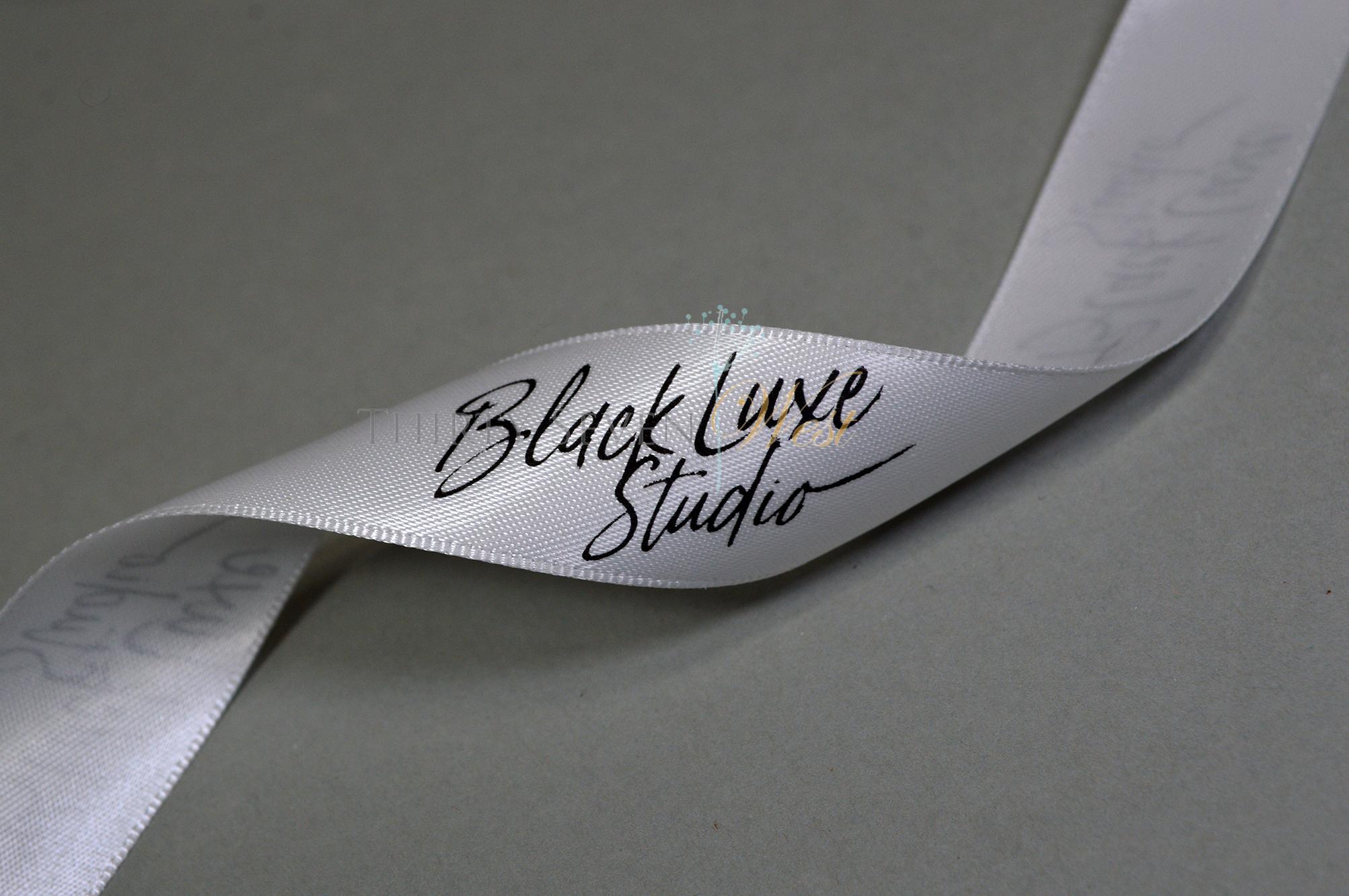 Event Ribbon, Custom Logo Ribbon, Logo Ribbon, Printed Logo Ribbon, Custom Ribbon, Company Logo Ribbon