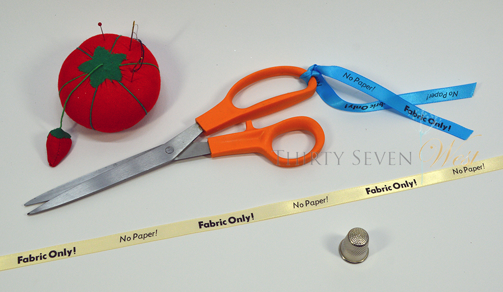 Only Fabric Ribbons for scissors