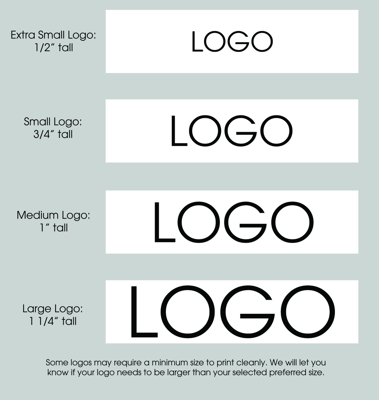 "1 1/2"" Custom Logo Satin Ribbon Logo Layouts"