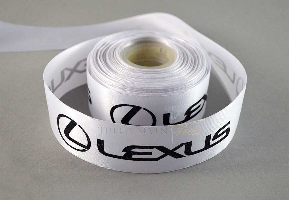 Corporate Branding ribbon with logo for PGA sponsors