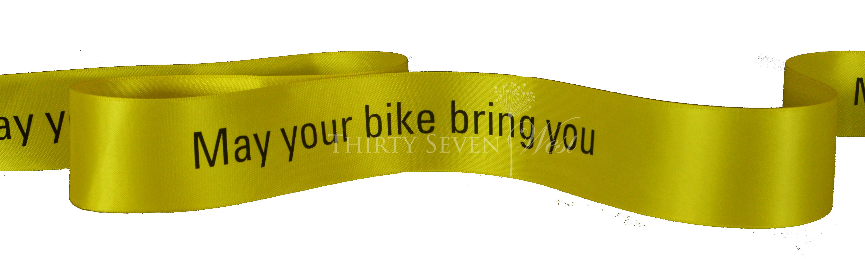 Yellow Ribbon, Yellow Satin Ribbon, Custom Logo Ribbon, Logo ribbon, Ribbon, Branded Ribbon, Printed Logo Ribbon, Ribbon with logo, Custom Satin Ribbon.
