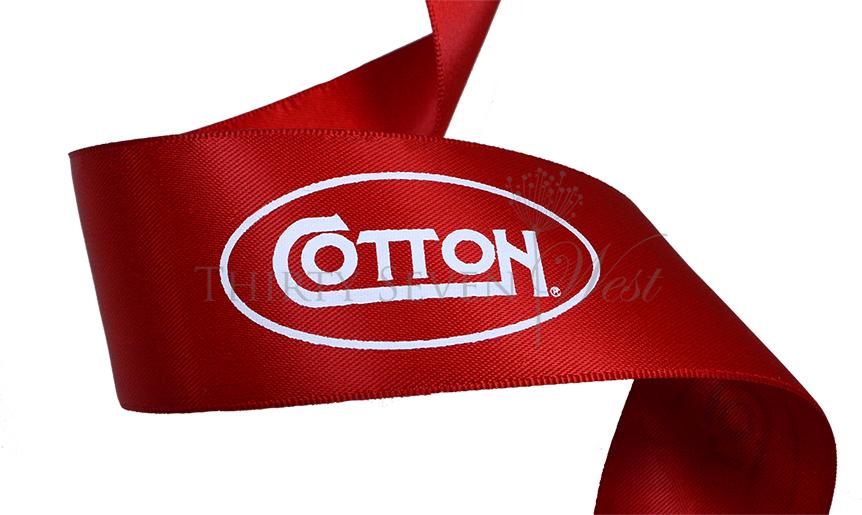 Ribbon for gift wrapping,  Logo Ribbon, Printed Logo Ribbon, Custom Logo Ribbon, Branded Ribbon, Company Logo Ribbon, ribbon with logo printed, Printed Logo Ribbon