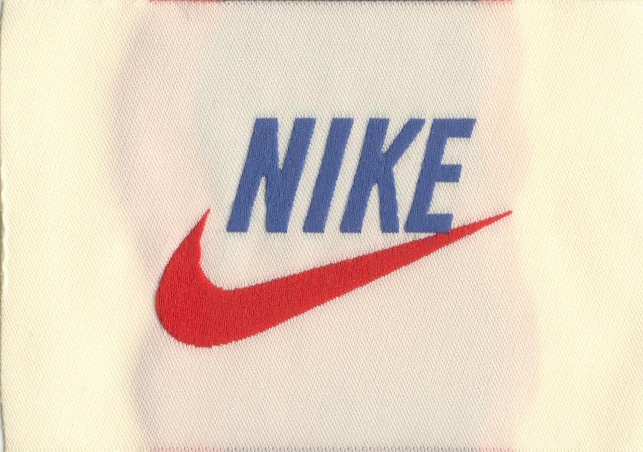 Etiquetas de tela Nike tejidas
