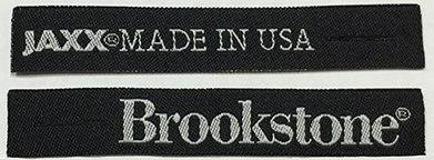 Tirador de Cierre tejido personalizado para almohadas Brookstone