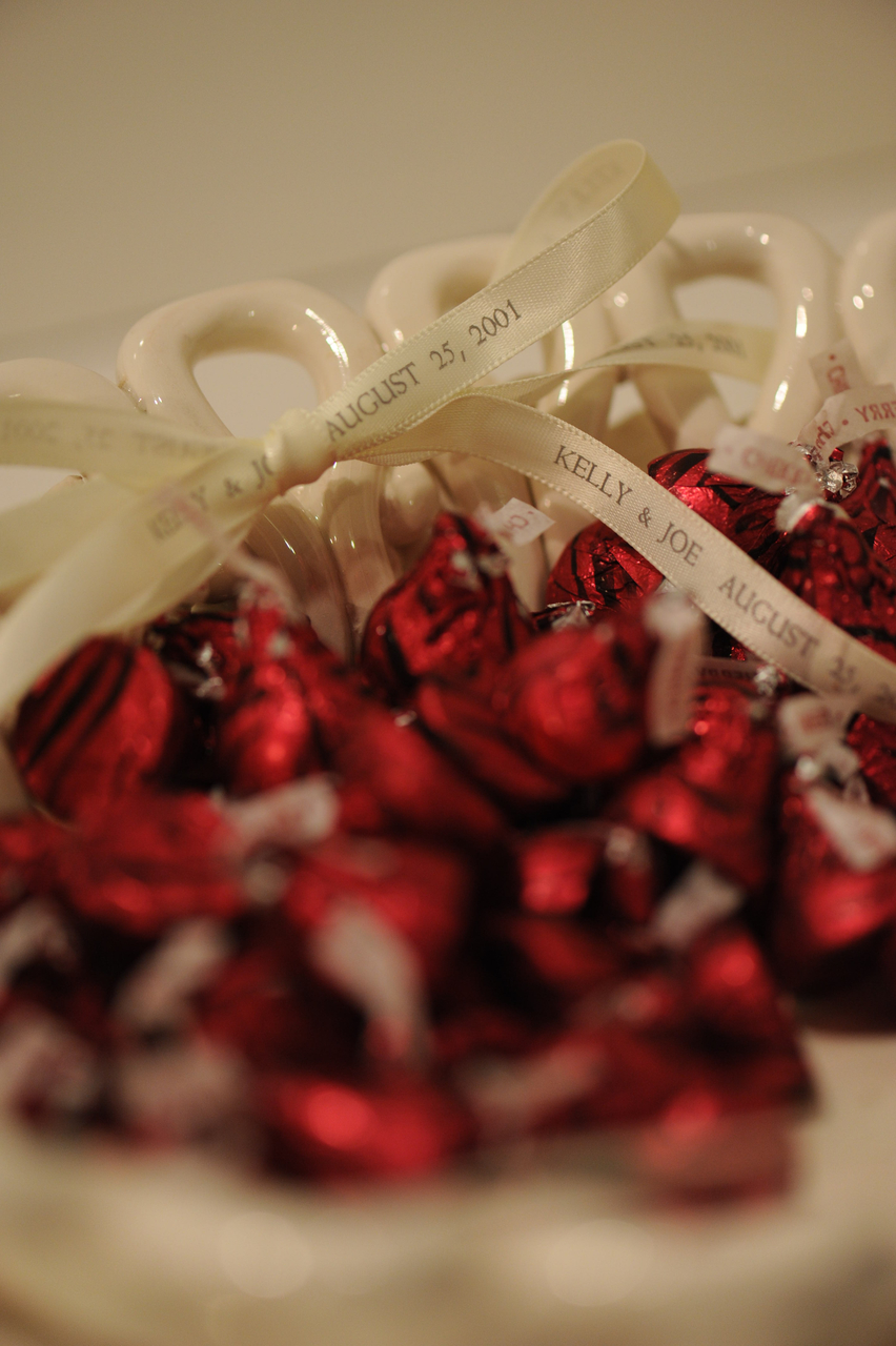Personalized printed satin ribbon for baby showers