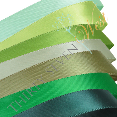 Green Colors Ribbon, Custom colors for your printed ribbon with logo, PMS color matched ribbon