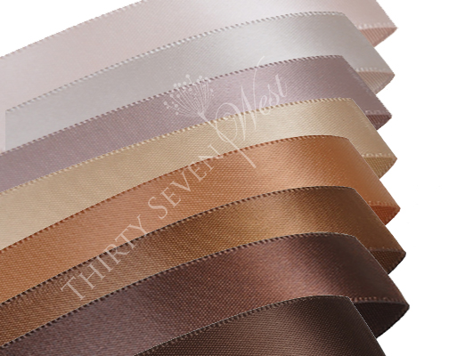 Brown Colors Ribbon, ribbon for events, ribbon for decoration, ribbon for weddings