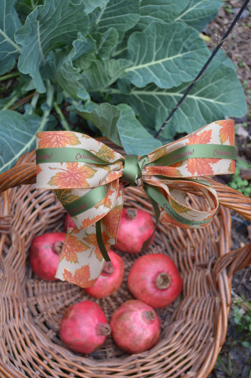 Unique gift basket ideas using personalized printed satin ribbon