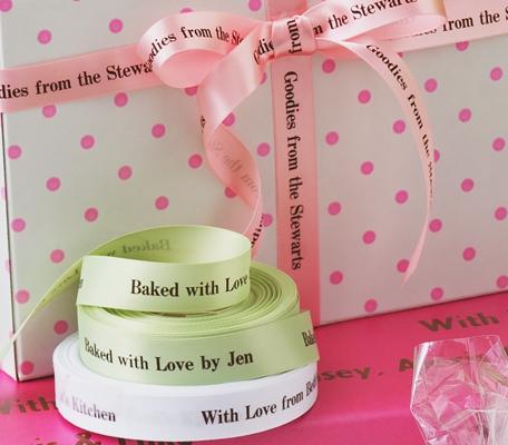 "Personalized 5/8"" Satin Wedding Ribbon"