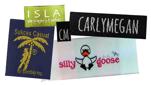 Personalized Woven Fabric Labels