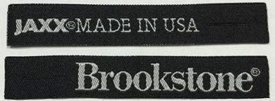 Custom Woven Zipper Pull for Brookstone Pillows