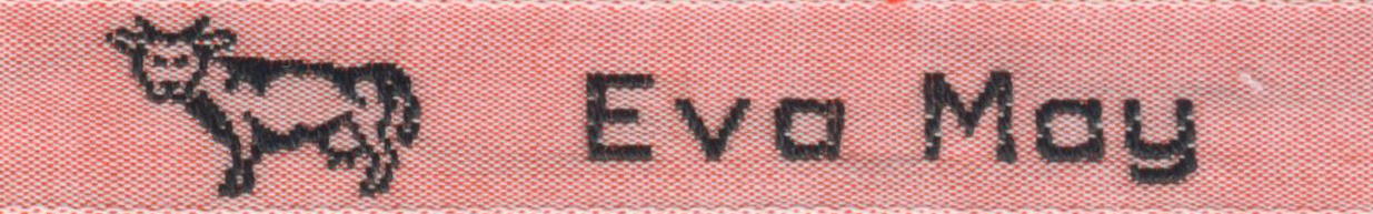 100% Cotton Woven Labels - Style F22
