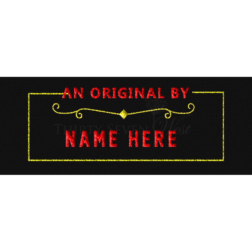 Clothing Label - An Original
