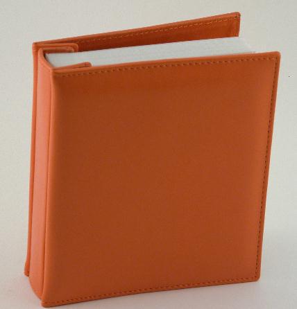 Orange Photo Album