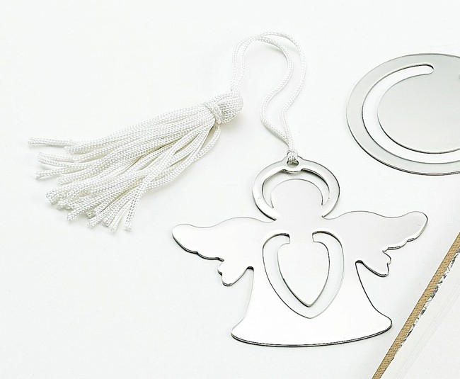 Standing Angel Bookmark with Tassel