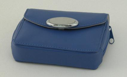 Zippered Card Case - Indigo
