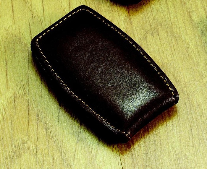Brown Bulged Money Clip