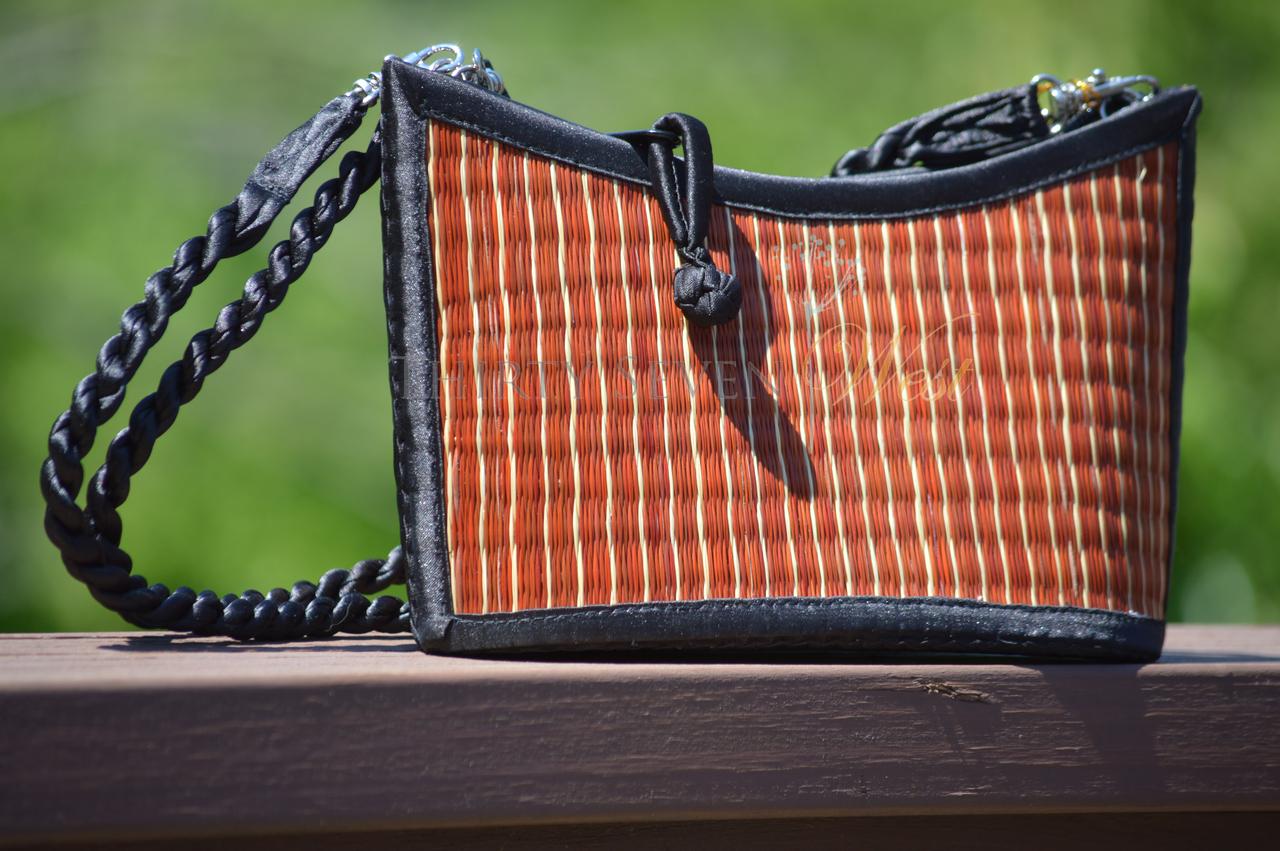 Angled Bag - Brown