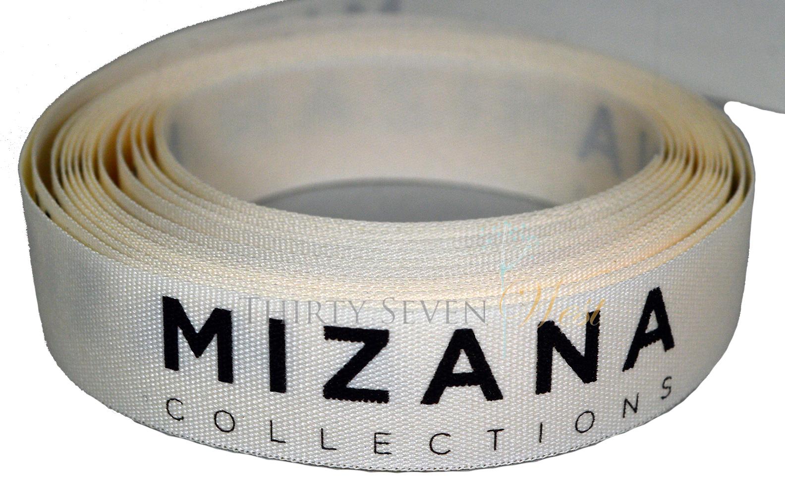 Matte Texture Ribbon, Custom logo Ribbon, Logo Ribbon, Textured Ribbon, Branded Ribbon.