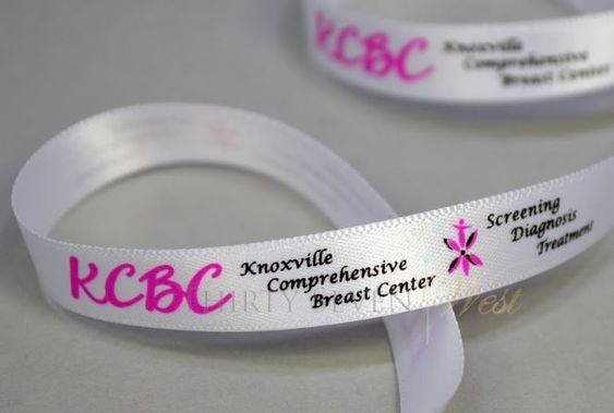 Custom Multi Color Logo Ribbon, Full Color Logo Ribbon, 2 Color Logo Ribbon, Personalized Ribbon with logo, Two Color Logo Ribbon, Pantone Color Logo Ribbon, PMS Color Logo Ribbon, Multi Color Custom Ribbon,  KCBC Ribbon