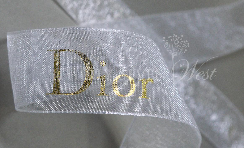 Branded Ribbon, Ribbon for events, Ribbon for gift wrapping, Logo ribbon printing, Custom Logo Ribbon, Organza Ribbon with logo Printed