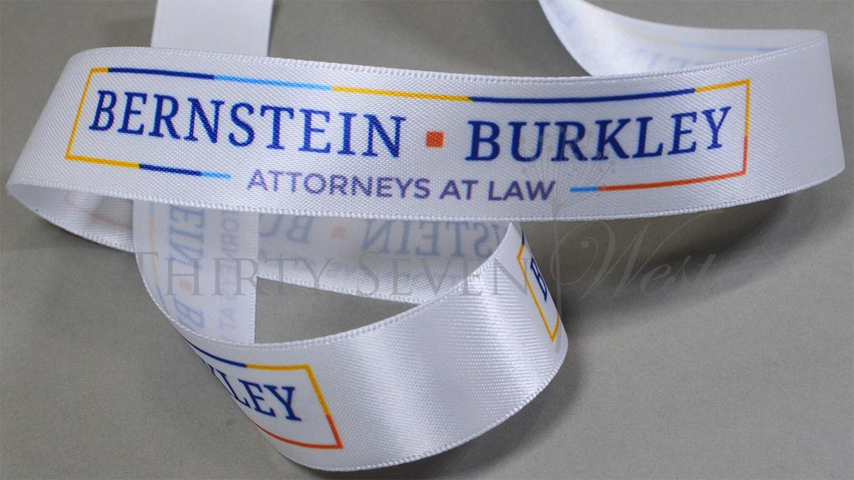 Custom Logo Printing, Logo Ribbon with multi-color print, Corporate Logo Ribbon, Company Logo on Ribbon, Ribbon with Logo, Full Color Logo Ribbon, MultiColor Logo Ribbon, Branded Ribbon